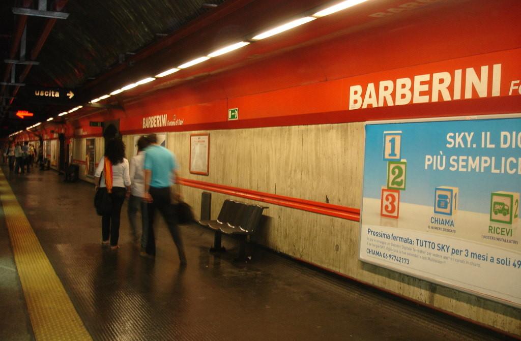 станция Barberini, Рим