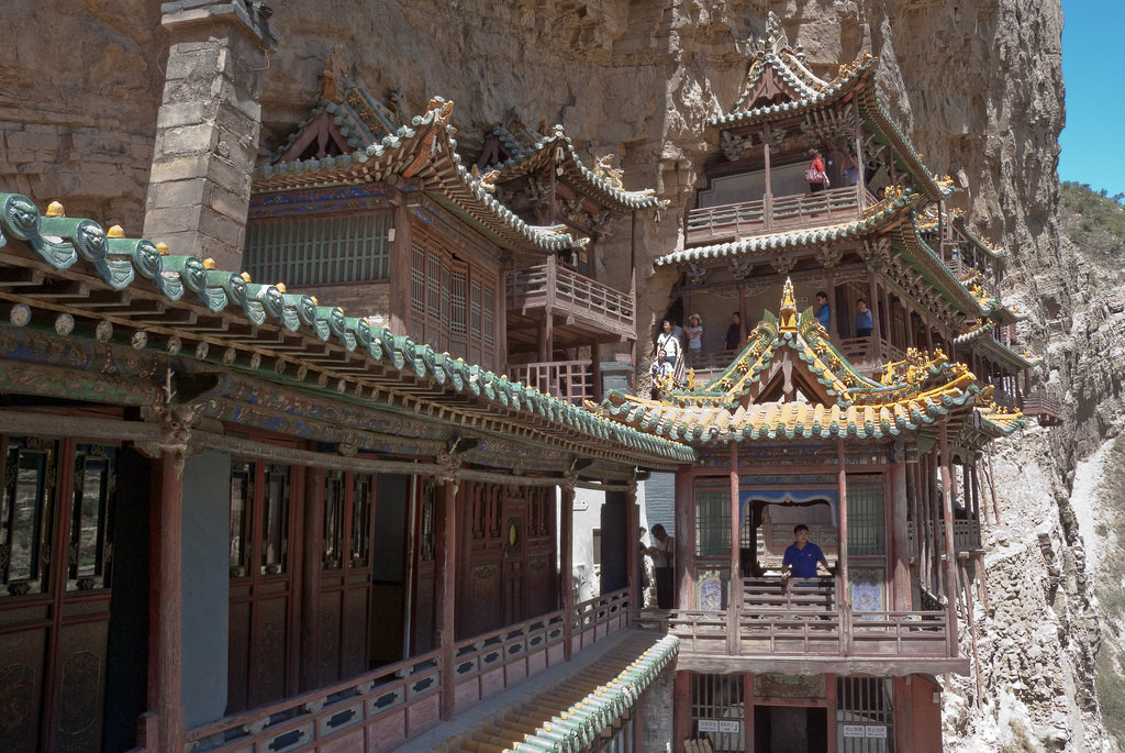 Монастырь Сюанькун-сы,