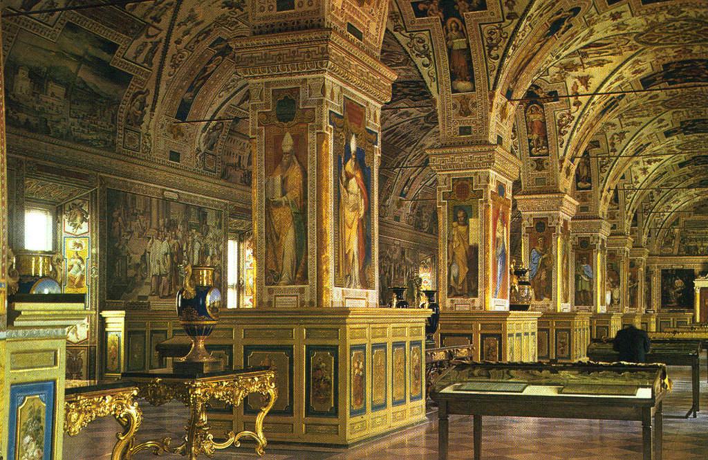 Библиотека в Ватикане