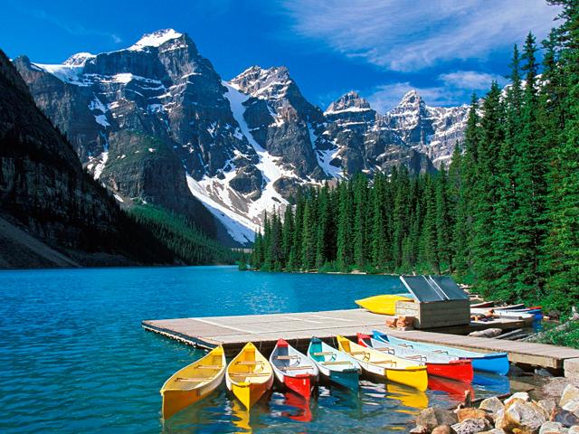 Парк Банф в Канаде
