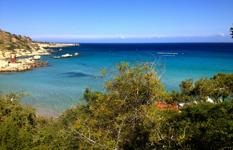 пляжи, Кипр, песок, Лума, Коннос, Гришн, Фарос, Нисси