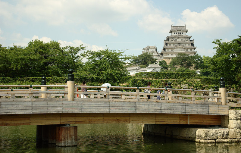 замок, белая, капля, Япония, Химэдзи, ЮНЕСКО, Акамацу
