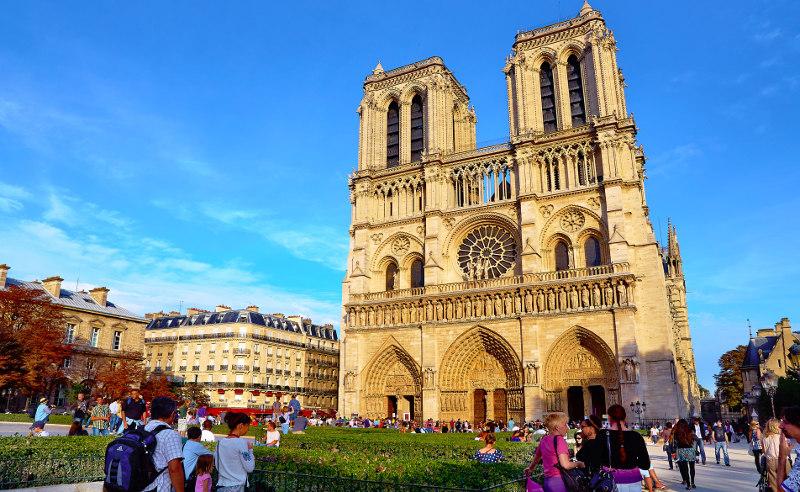 Париж, маршрут, Франция, Нотрдам, Эйфелева, башня, Трокадеро