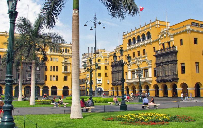 Перу, транспорт, перелет, самолет, автобус, поезд, такси