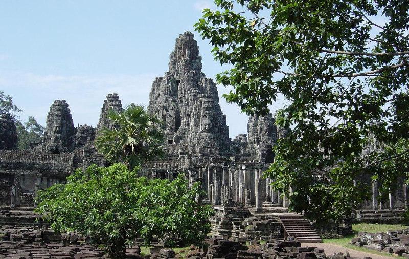 храмы, Ангкора, экскурсии, один, день, Камбоджа, Байон, Ангкор,