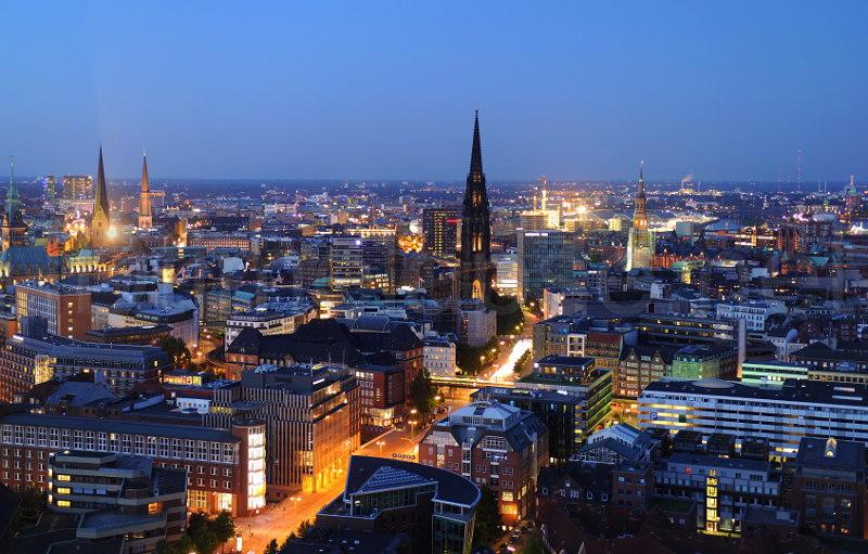Берлин, Гамбург, Германия, туризм, добраться, транспорт, автобус, поезд, автомобиль
