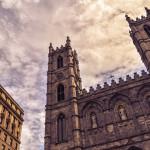 Собор, Монреальской, Богоматери, Канада, церковь, Нотрдам, Монреаль, Базилика