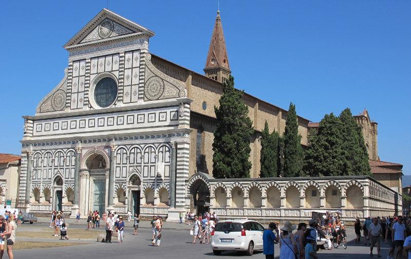 Самостоятельная, экскурсия, Исторический, центр, Флоренции, Флоренция, Италия, Базилика, новелла, Капелла, Медичи
