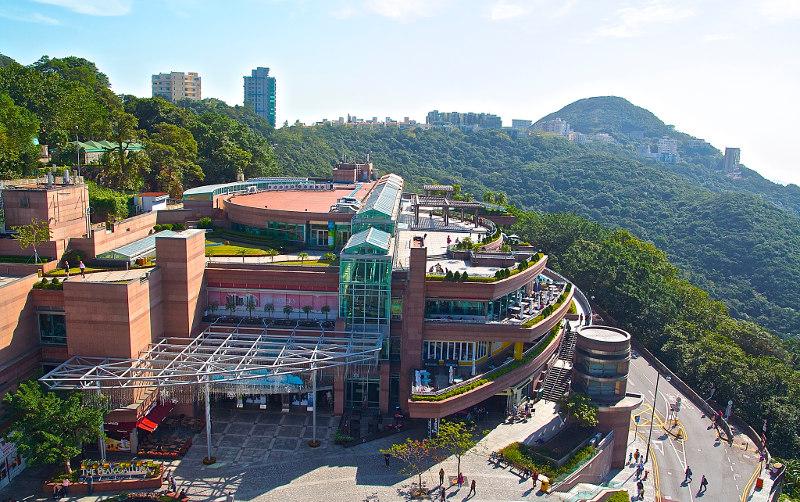 Пик, Виктория, лучшая, смотровая, площадка, Гонконга