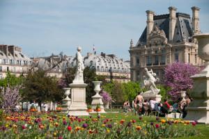 Сад Тюильри в Париже