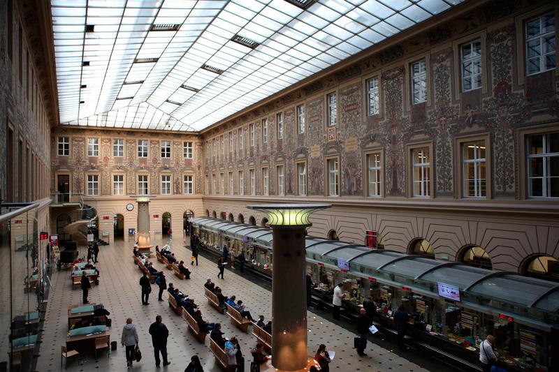 Главпочтамт, Прага