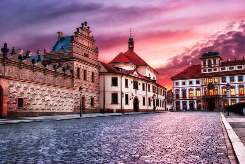 Тосканский дворец, Прага