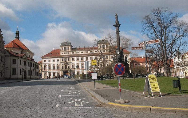Архиепископский дворец в Праге