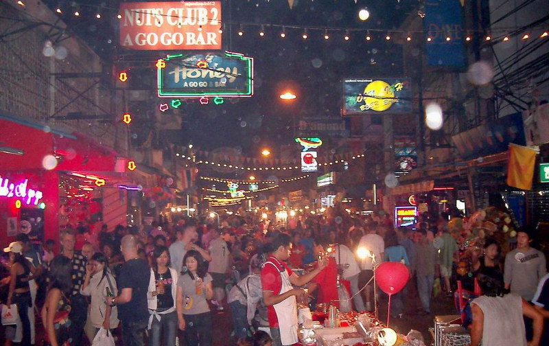 Улица в тайланде волкин стрит