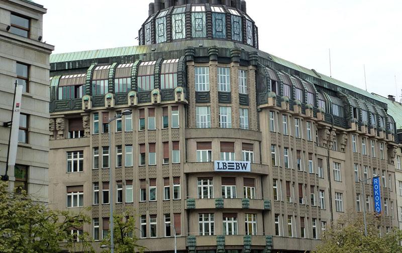 Бывший Моравский банк, Прага