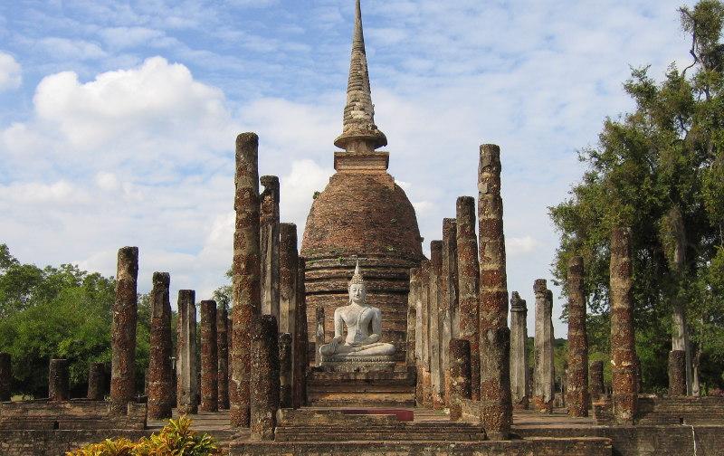 Самостоятельная, экскурсия, центру, Бангкока, музей, Сиам, рынок, Пхахурат, Кхаосан, Лакмуанг