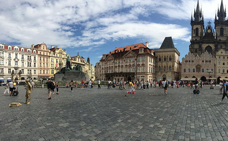 Самостоятельная экскурсия по Праге: Нове Место