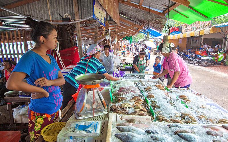 Где в паттайе поесть морепродукты
