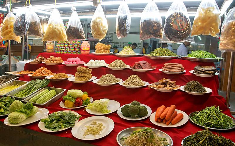 Рыба в тайланде на рынке