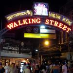 Волкин, стрит, Walking, street, Паттайя, Таиланд, клуб, бар, развлечения