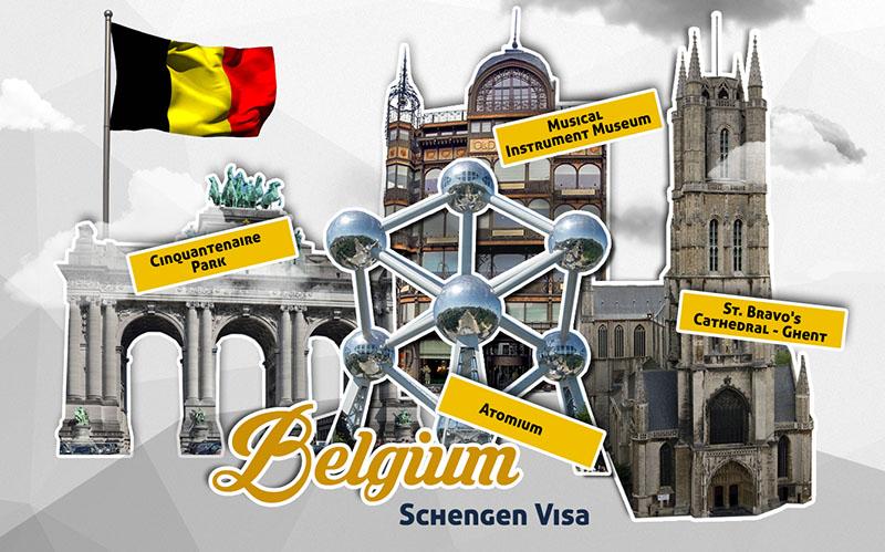 Виза в Бельгию самостоятельно