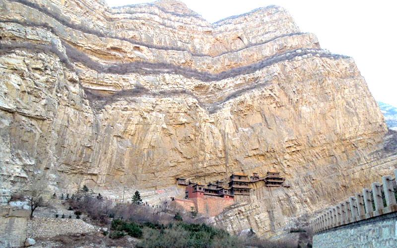Монастырь Сюанькун-сы, Китай: описание, фото, как добраться, карта