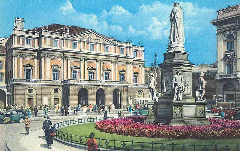 Театр Ла Скала в Милане