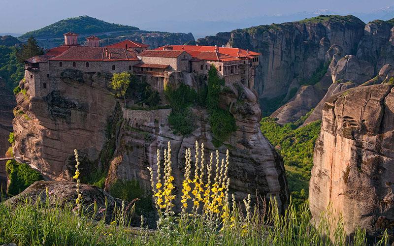 Varlaam Monastery, Meteora, Greece  № 10771  скачать