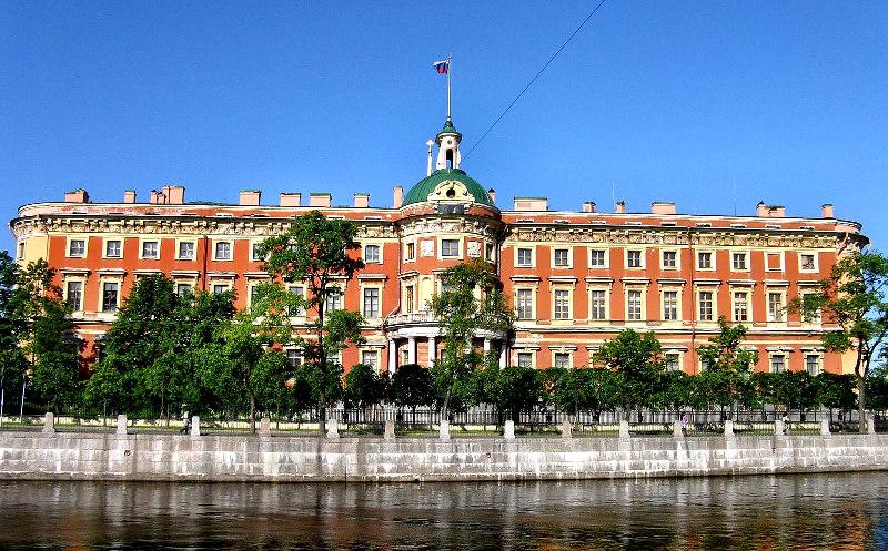 Михайловский замок и сад