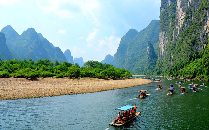 Сплав по реке Ли