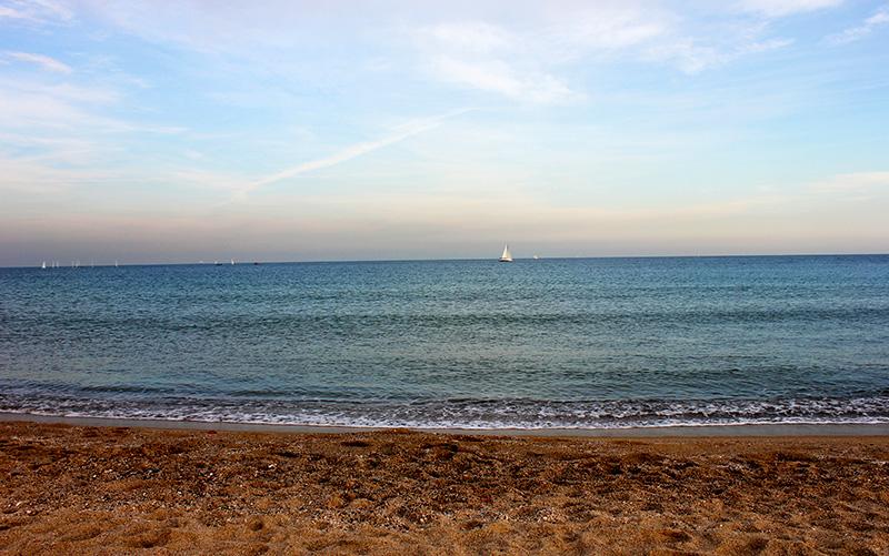 Пляж Сант Себастиа