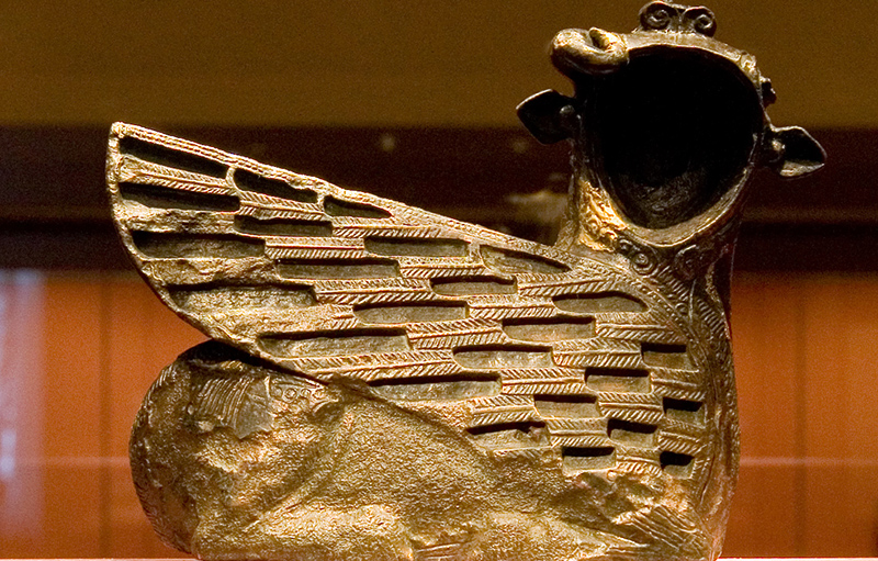 коллекция бронзовых изделий государства Урарту