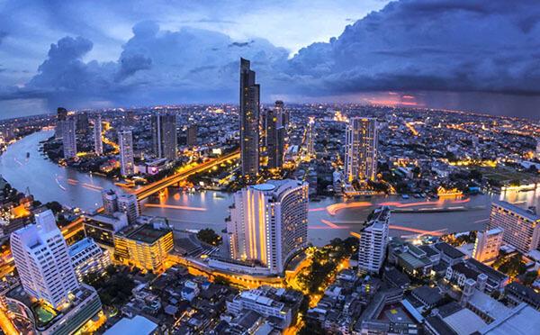 Перелёт в Таиланд через третьи страны