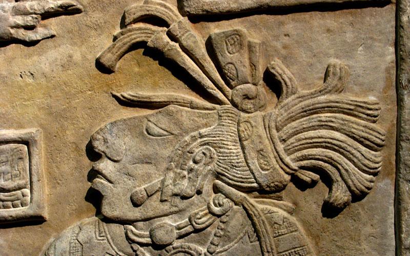 Коллекция предметов майя