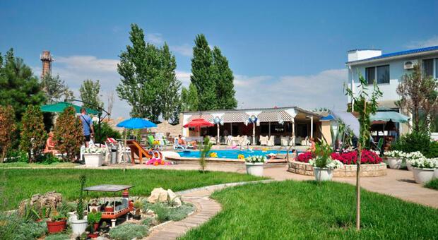 Мини-отель Сантурина в Крыму