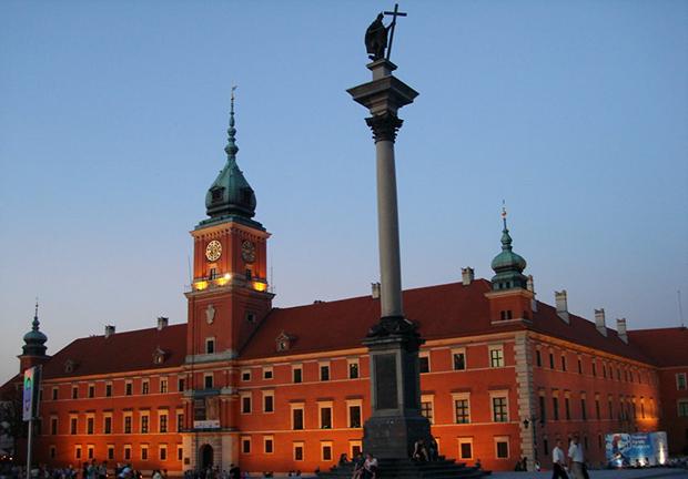 Статуя короля Сигизмунда III