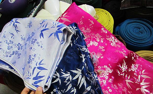 Одежда и шёлк из Вьетнама