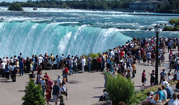 Ниагарский водопад в Канаде и США: фото, описание, карта
