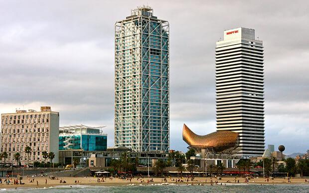 Отель Arts Barcelona