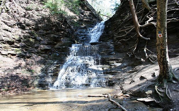 Водопад вечного огня, Нью-Йорк, США: фото, описание