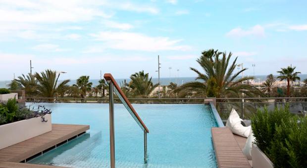 Отель Barceló Atenea Mar