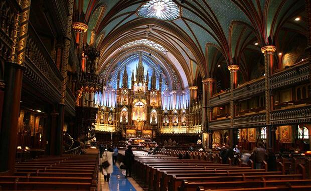 Кафедральный собор Монреальской Богоматери