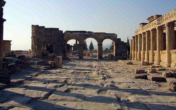 Руины древнего Хиераполис