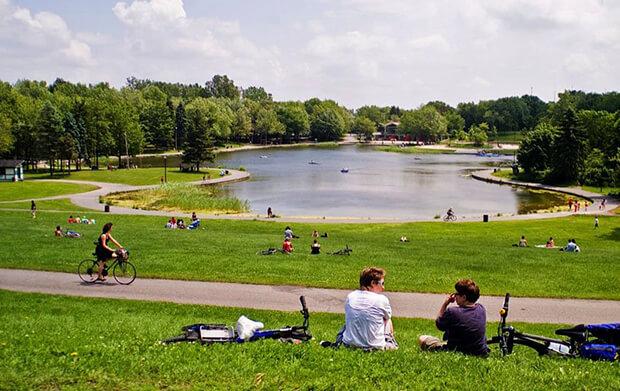 Парк Сит-де-Гавр в Монреале