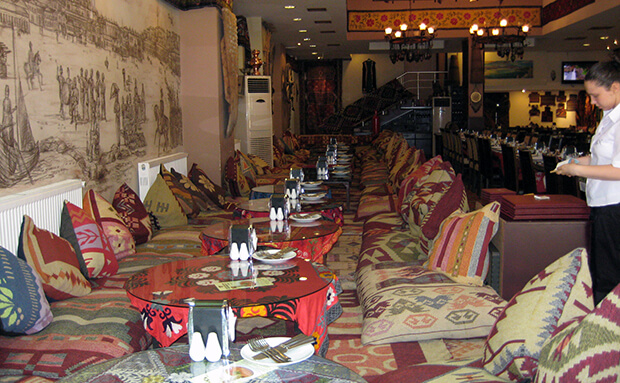 Рыбный ресторан Sultanahmet
