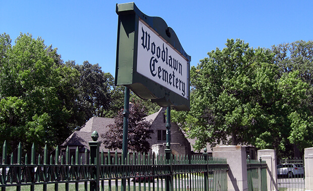 Кладбище Вудлон (Woodlawn Cemetery)