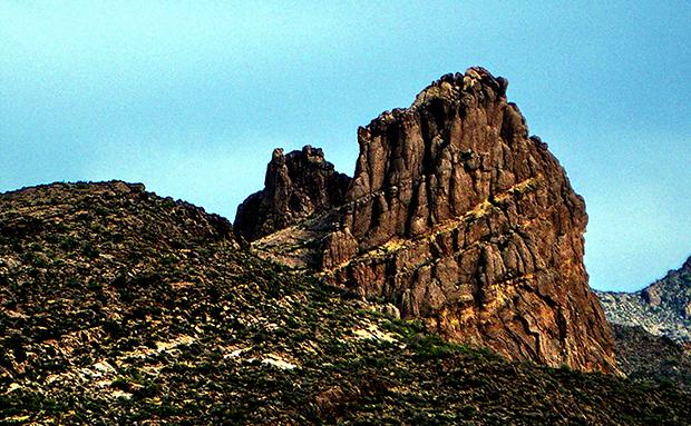 Горы Суеверий, США