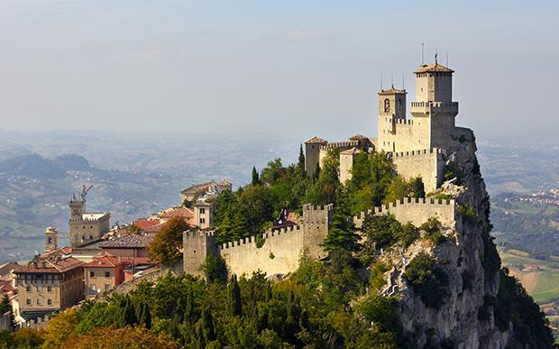 Монте-Титано в Сан-Марино