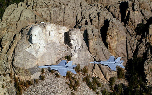 Гора Рашмор, США