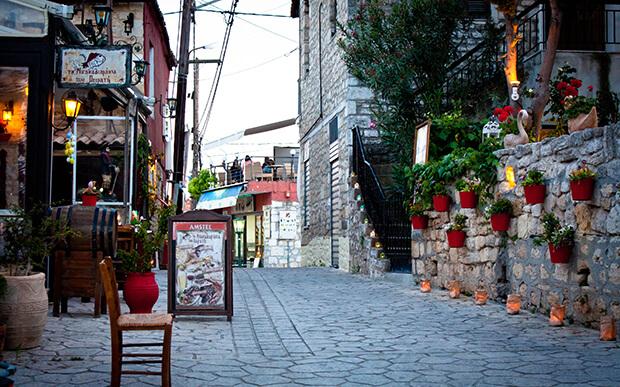 Деревня Афитос